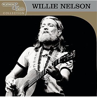 Willie Nelson - importation USA Platinum & Gold Collection [CD]