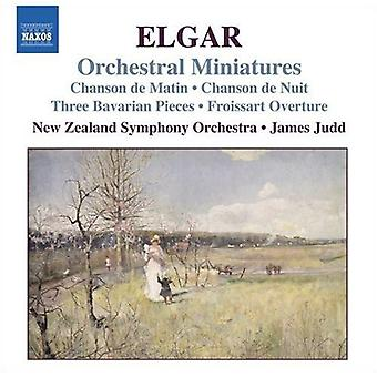 E. Elgar - Elgar: Orchestral Miniatures [CD] USA import