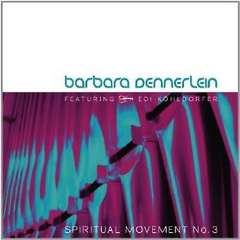 Barbara Dennerlein - import USA No.3 de mouvement spirituel [CD]