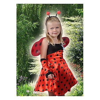 Kinder kostuums meisjes lieveheersbeestje