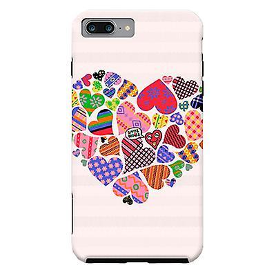 ArtsCase Designers Cases Love Me Not for Tough iPhone 8 Plus / iPhone 7 Plus