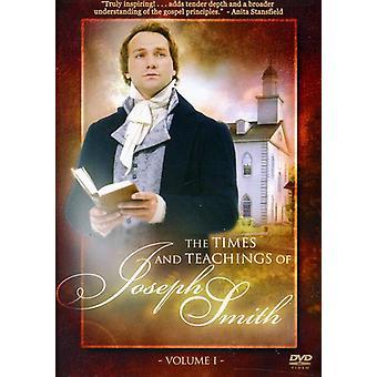 Times & Teachings of Joseph Smith [DVD] USA import