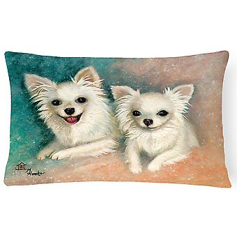 Chihuahua The Siblings Fabric Decorative Pillow