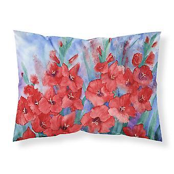 Carolines Treasures  IBD0250PILLOWCASE Gladioli Fabric Standard Pillowcase