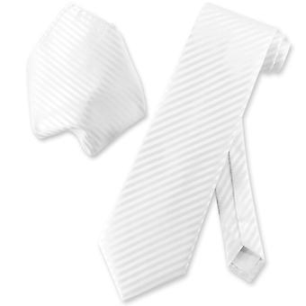 Vesuvio Napoli randig halsduk & näsduk matchande hals slips Set