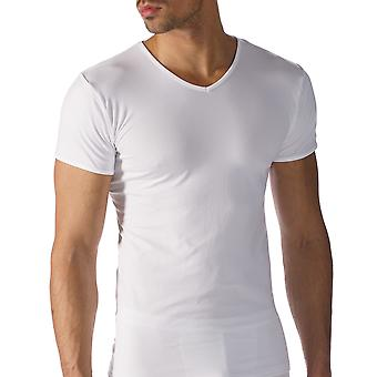 Mey 42607-101 Men's Software White Solid Colour Short Sleeve Top