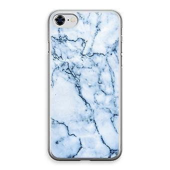 iPhone 8 Transparant Fall (Soft) - blaue Murmel