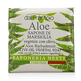 Nesti Dante Dal Frantoio oliiviöljyä kasviperäiset saippua - Aloe Vera - 100g/3.5 oz
