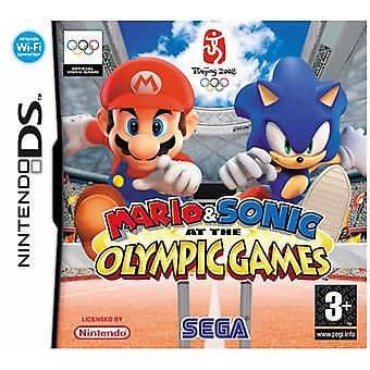 Mario  Sonic at the Olympic Games (Nintendo DS) - New