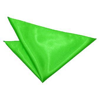 Apple Green almindelig Satin Pocket Square