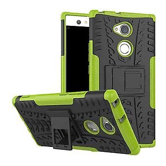 Hybrid case 2 piece SWL robot green for Sony Xperia XA2 ultra Pocket sleeve cover protection