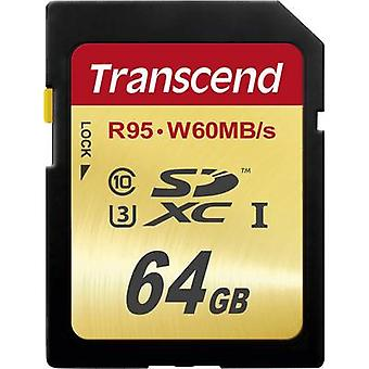 Transcend Ultimate SDXC card 64 GB Class 10 UHS-I, UHS-classe 3
