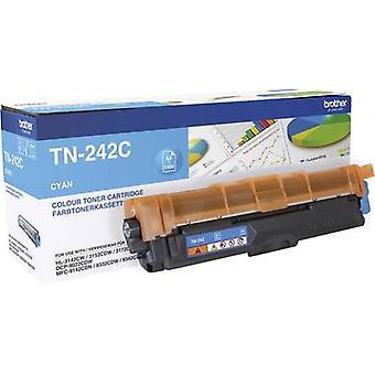 الأخ تونر خرطوشة TN-242C TN242C الأصلي سيان 1400 الجانبين