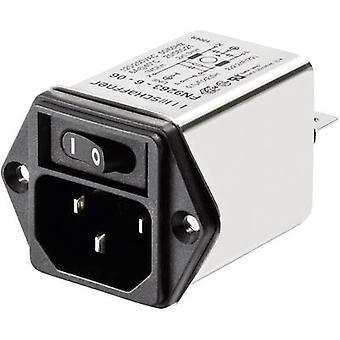 Schaffner FN 9263-3-06 Line filter + IEC socket 250 V AC 3 A 2 mH (W x H) 46 mm x 32.2 mm 1 pc(s)
