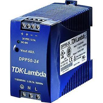 TDK-Lambda DPP-50-48 bară de alimentare montată pe șină (DIN) 48 V DC 1,05 A 50 W 1 x