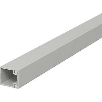 OBO Bettermann 6189393 Cable duct (L x W x H) 2000 x 15 x 15 mm 1 pc(s) Grey