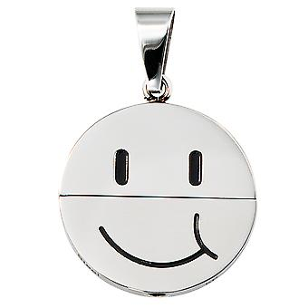 Trailer stainless steel pendant lachendes face can be rotated