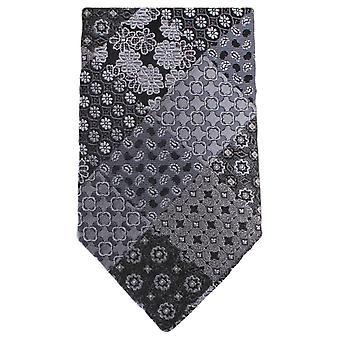 Gravatas de Knightsbridge Multi padrão Floral gravata - cinza
