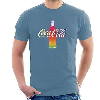 Coca Cola Multi Colour Bottle Men's T-Shirt