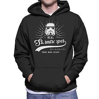Original Stormtrooper Baseball Text Men's Hooded Sweatshirt