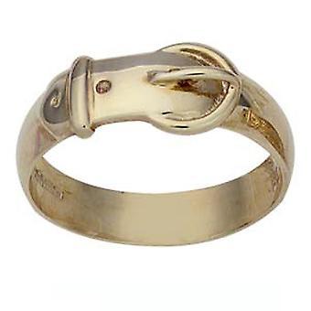 9ct kultaa tavallinen lukon rengas koko Z