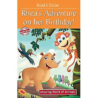 Rhea's Adventure On Her Birthday (Amazing World of Animals Serie)