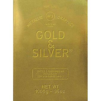 Palette 03: Gold & Silver Metallic Graphics