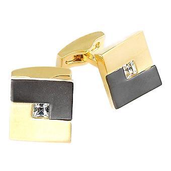 Cuff link · Swarovski · gold · VC246