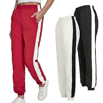 Urban classics ladies - CRINKLE track pants trousers