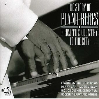 Historien om Piano Blues: från landet till staden - Story of Piano Blues: från the Country City [CD] USA import