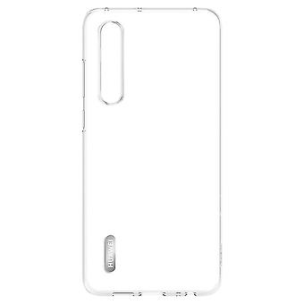 Plastic cover transparent for Huawei P30 51993008 original pouch case cover skin cover