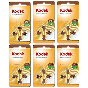 Batterie da 24-pack Kodak -Air Hearing Aid 312, A312, PR41