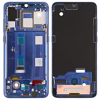 Mittel Rahmen für Xiaomi Mi 9 Blau Middle Frame Bezel Plate Ersatzteil Reparatur