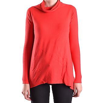 Blugirl Folies Ezbc208008 Femmes-apos;s Rouge Viscose Sweater