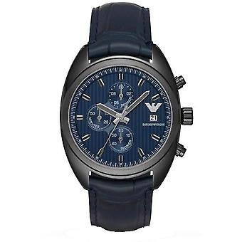 Emporio Armani Analog Casual Men's Leather Watches Ar6126