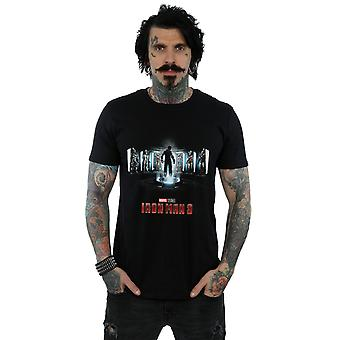 Marvel Studios Men's Iron Man 3 Poster T-Shirt