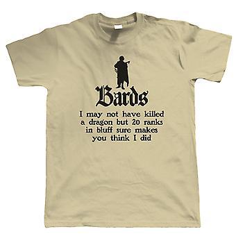 Bards, Herre T-shirt - Hobbyer DND Geek Gave Ham Far