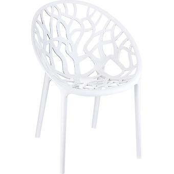 Plage7 - France Chaise Crystal Garden (fr)  Blanc chaises de jardin