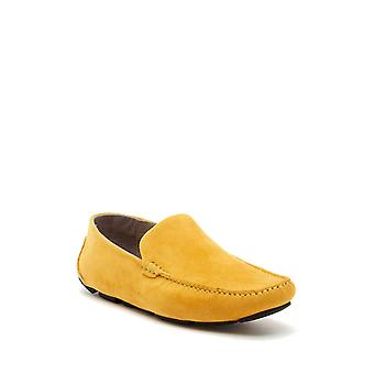 Kenneth Cole New York Mens Family Man Leather Square Toe Penny Loafer