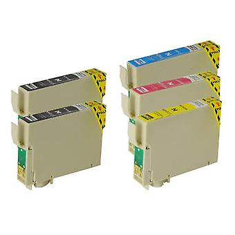 73N Compatible Inkjet Cartridge Set  5 Ink Cartridges [Boxed Set]
