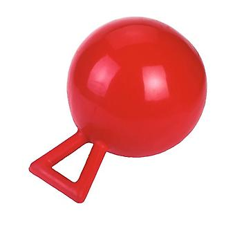 Kerbl 32398 - Game Ball - Reason: Horses - 25 cm - Color: Red