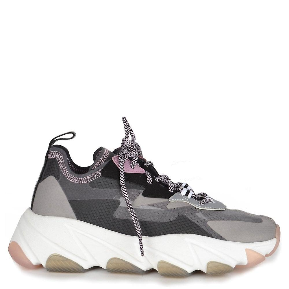 Ash ECLIPSE Camo Print Trainers Mesh & Suede yVpDJ