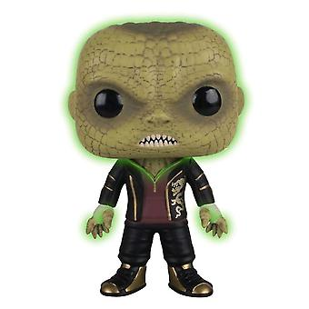 Suicide Squad Killer Croc Glow US Exclusive Pop! Vinyyli