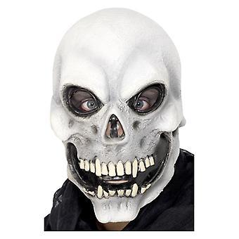 Mens Skull Overhead Mask Halloween Fancy Dress Accessory