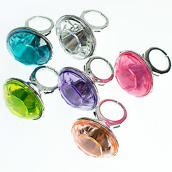 Single Giant Jewelled Ring - Party Bag Favour Filler