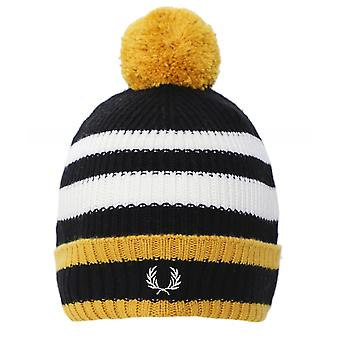 Fred Perry Wool Blend Chunky Tipped Beanie C7159 774