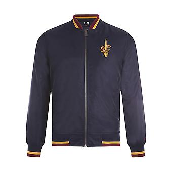 Veste New Era NBA Team Apparel Varsity Cleveland Cavaliers Osb Bleu
