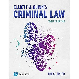 Elliott  Quinns Criminal Law by Louise Ms Taylor