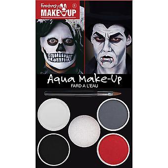 Bristol Novelty Dracula/Skull Aqua Makeup Kit