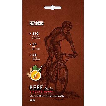 Köttet beslutsfattare Gourmet Beef Jerky Box 12 x 40 g